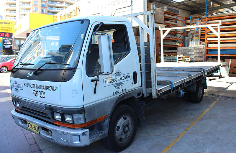 Sydney Timber Hardware Delivery